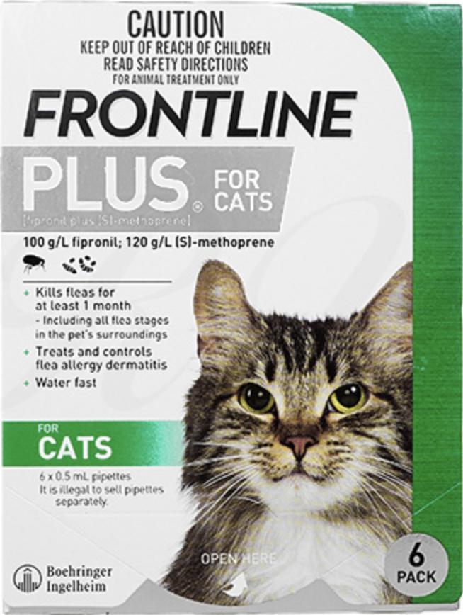 猫のフロントラインプラスとは?