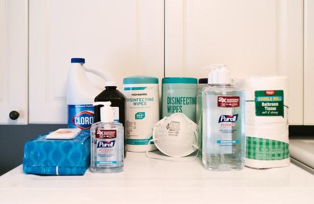 家庭でできる消毒の方法
