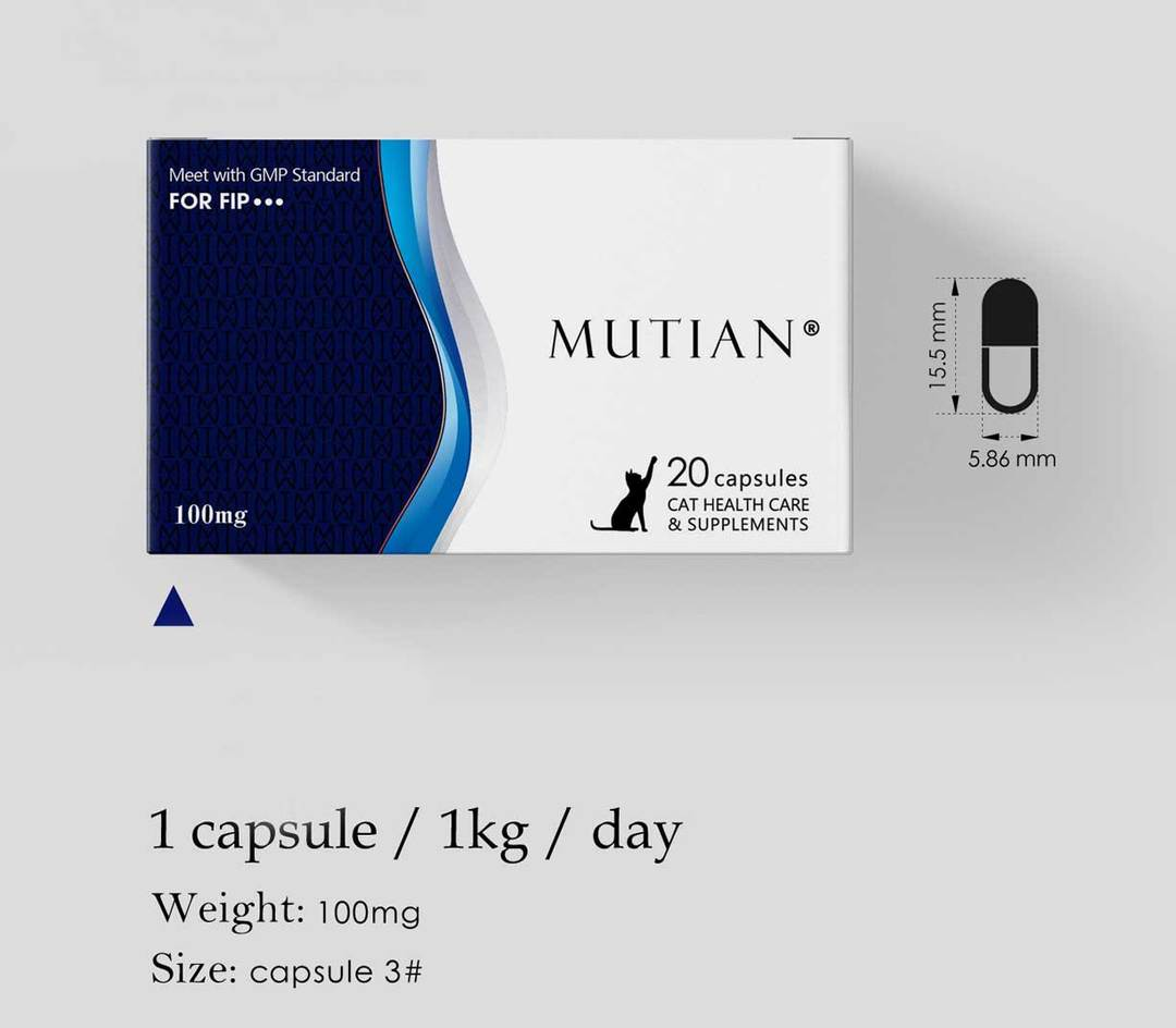 Mutian Capsules (100 mg x 10 capsules)