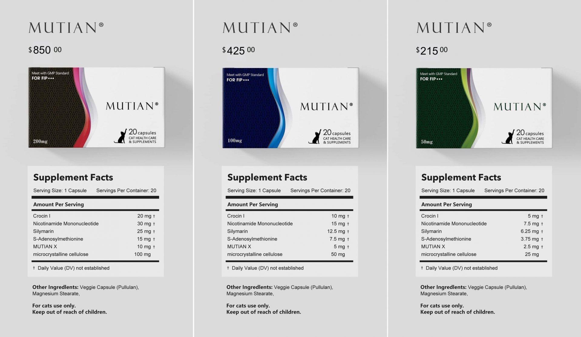 猫伝染性腹膜炎の新しい治療薬:MUTIAN(ムチアン)