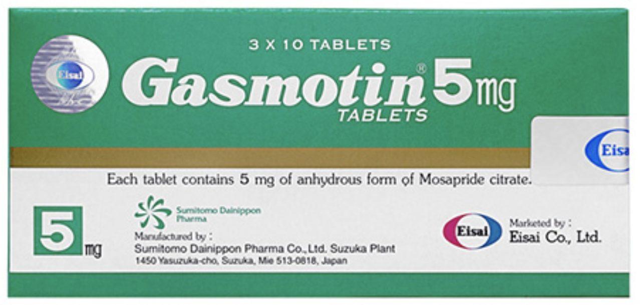 ガスモチン5mg (Gasmotin)